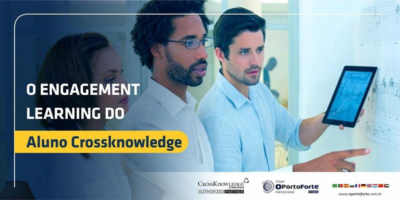 O Engagement learning do aluno Crossknowledge